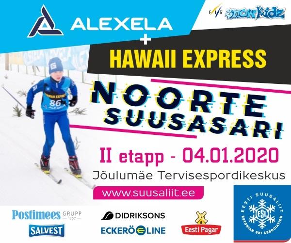 alexela-hawaii-express-Suusaliit_Noorte_Suusasari_2etapp-2020